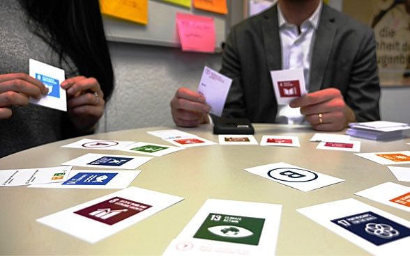 Jeu de cartes Sustainable Development Geek.