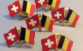 Photo des pins Suisse-Belgique