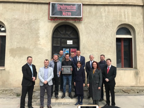 "The group of Francophone ambassadors and head of missions in BiH presented the organization ""Srebrenica Wave"" with a recognition ""Bridge for the Future"""