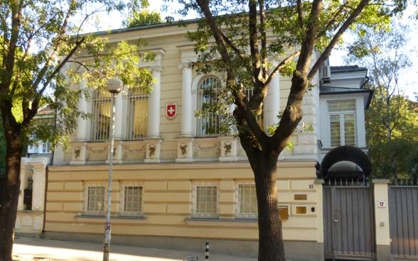 Embassy of Switzerland in Sofia