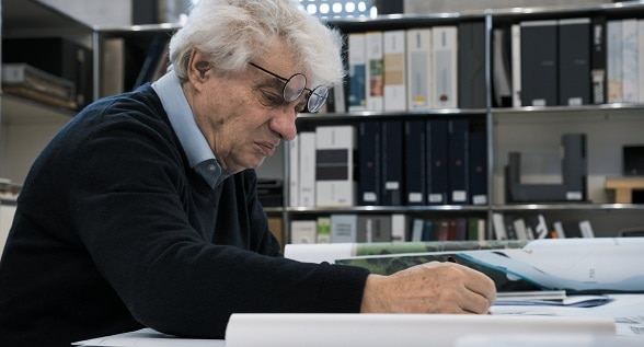 Swiss architect Mario Botta