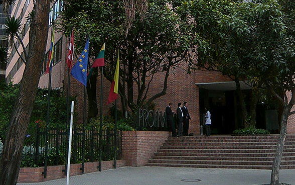 The embassy premises in Bogota