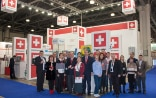 Swiss Pavillon at the Trade Fair Pharmtech