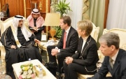 Thomas Aeschi meets with the Shura Council in Saudi Arabia