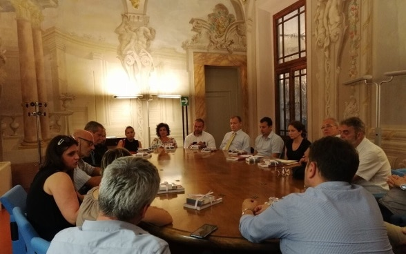 Serbian delegation on a study tour to Italy