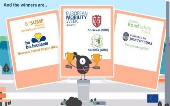 European Mobility Week Award for 2019