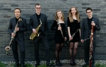 The Nexus Reed Quintet (from left to right): Nicola Katz, bass clarinet; Sandro Blank, saxophone; Marita Kohler, oboe; Annatina Kull, clarinet; Maurus Conte, bassoon.