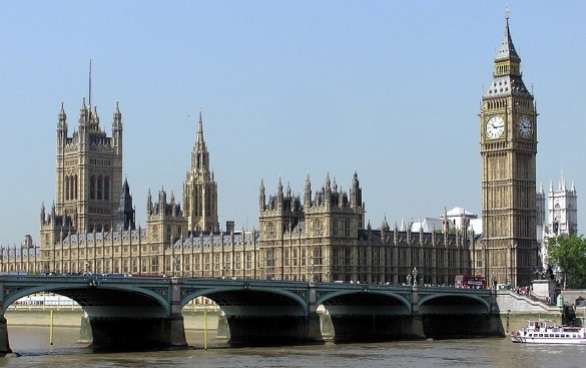 View of the Houses of Parliament