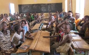 Children in a classroom in Burkina Faso in 2011