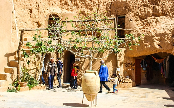 SECO-backed tourism project in the Dahar region in Tunisia
