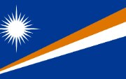Flag Marshall Islands