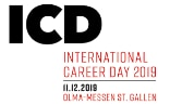 Il logo dell''International Career Day 2019.