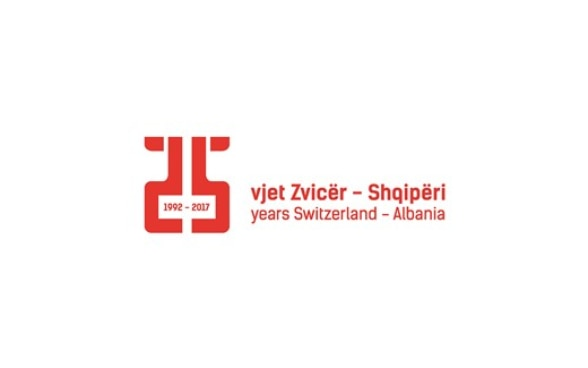 Logo and title for the Swiss Days events by the Embassy of Switzerland in Albania