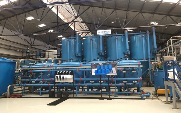 Fabricato - industrial water treatment and reuse plant