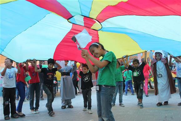 Safe Spaces Project, Khan Younis, Gaza Strip