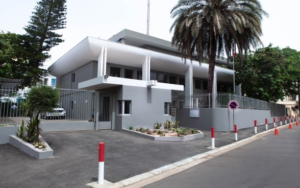 The embassy premises in Dakar