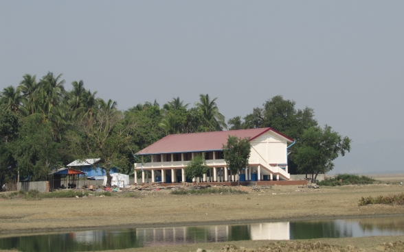 The primary school in Pan Zin Maw after project completion.
