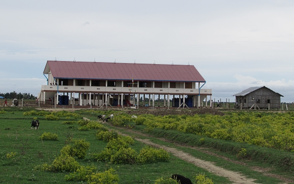 The primary school in Peik They after project completion.