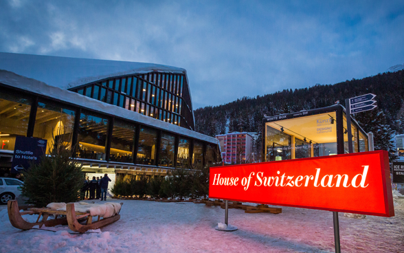 La «Casa Svizzera» al World Economic Forum 2019 a Davos