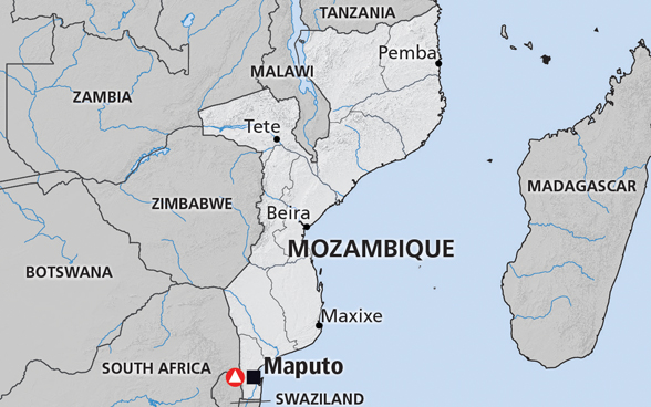 Map of Mozambique